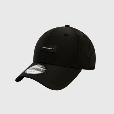 9FORTY Black Shine Badge Cap