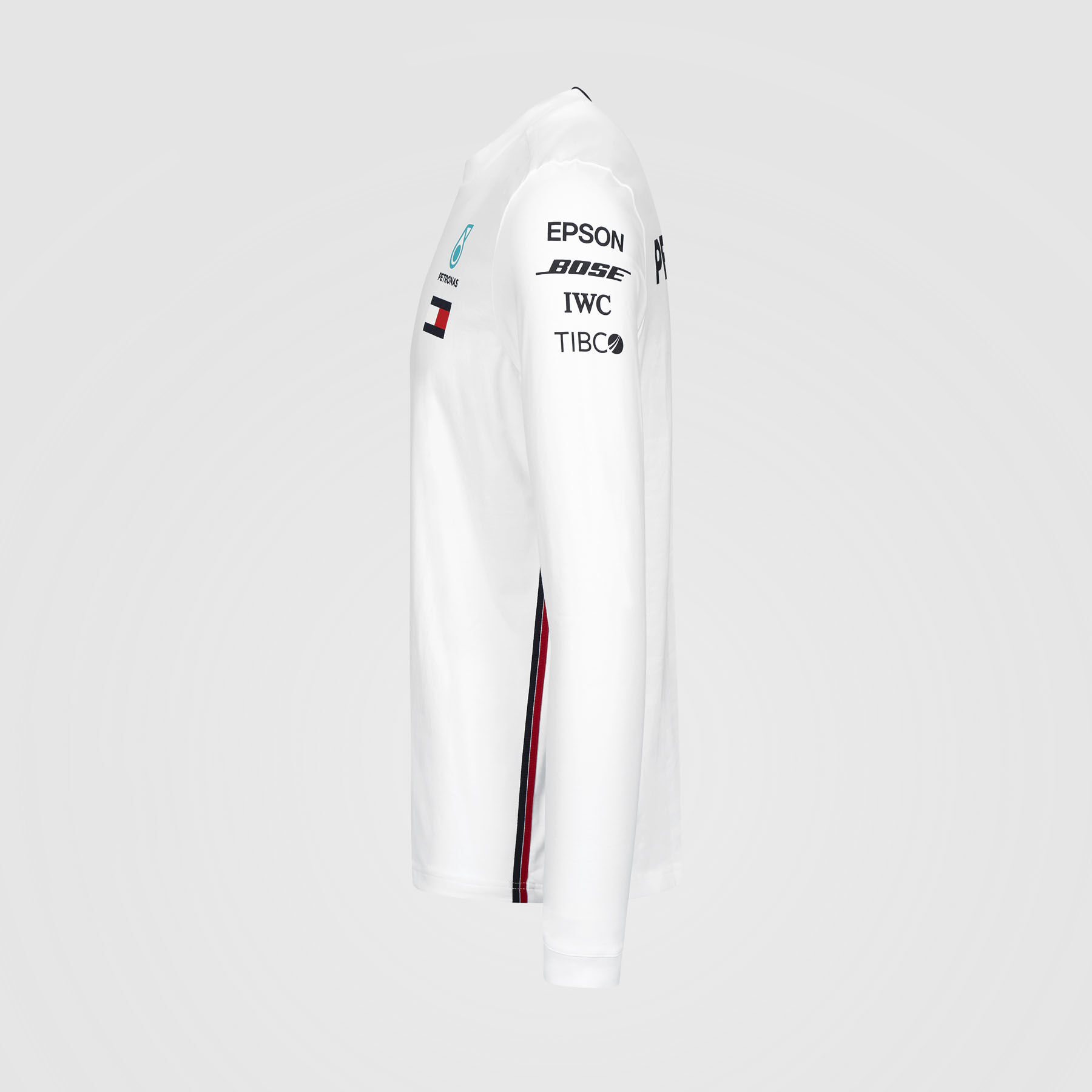 Mercedes AMG Petronas Motorsport 2019 F1 Mens Long Sleeve Driver T-Shirt