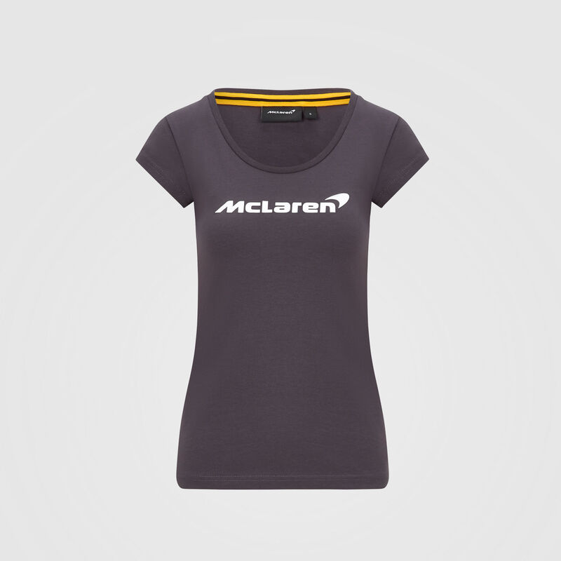 MCLAREN FW WOMENS ESSENTIALS TEE - Antracit