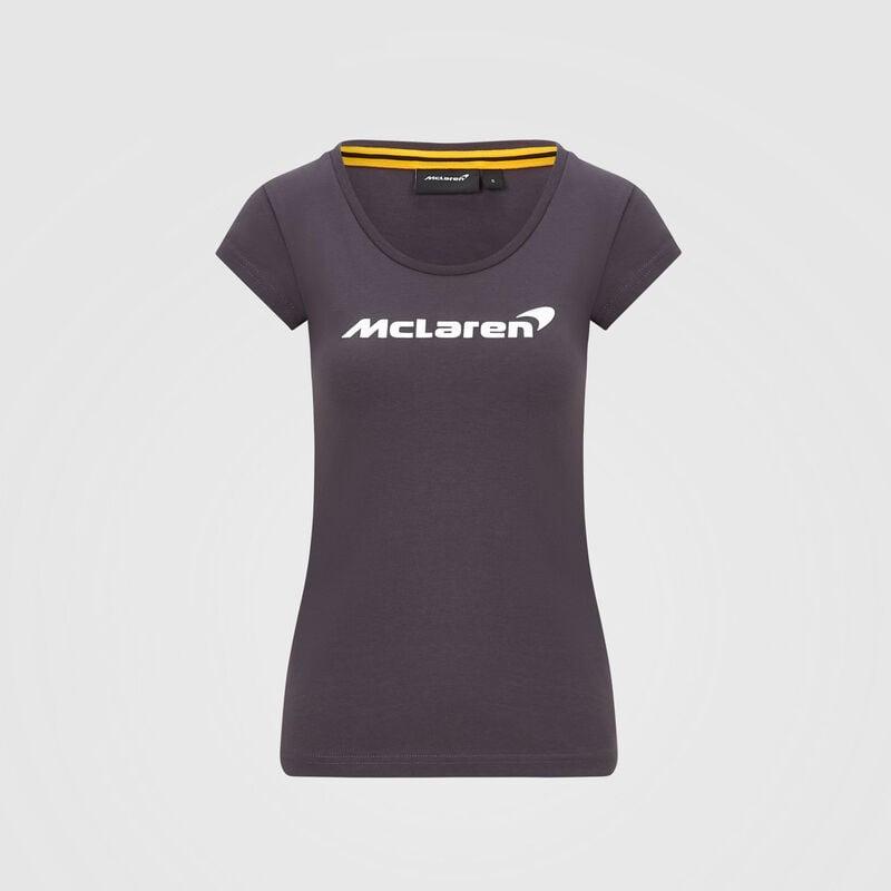 MCLAREN FW WOMENS ESSENTIALS TEE - Antracit