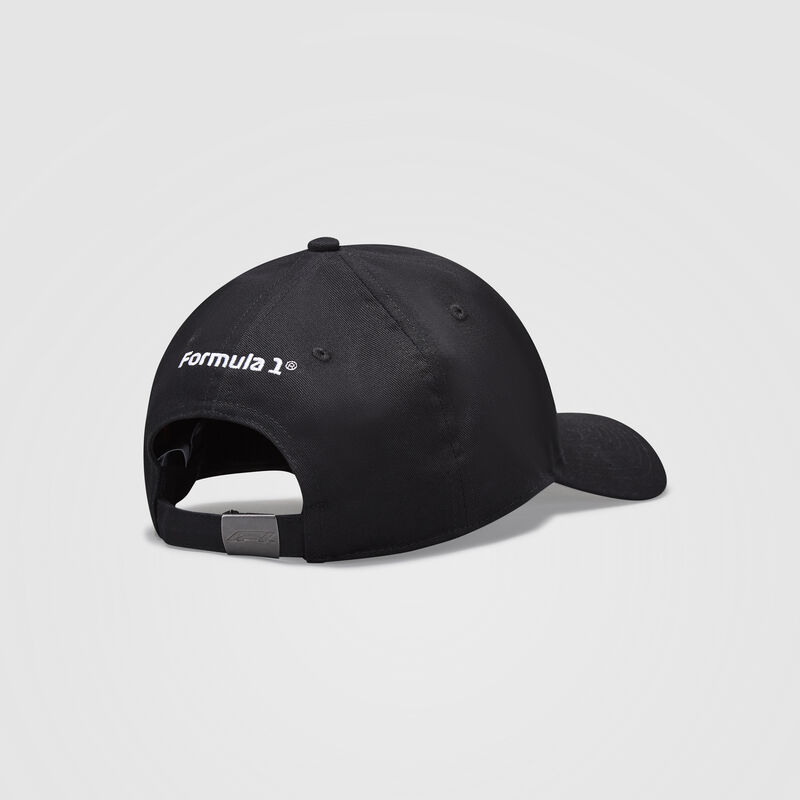 F1 FW LARGE LOGO BASEBALL CAP - black