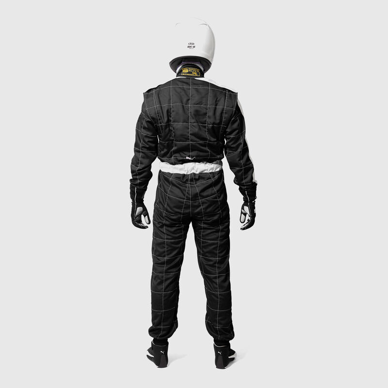PU RW UNISEX FIA T7 RACESUIT - black