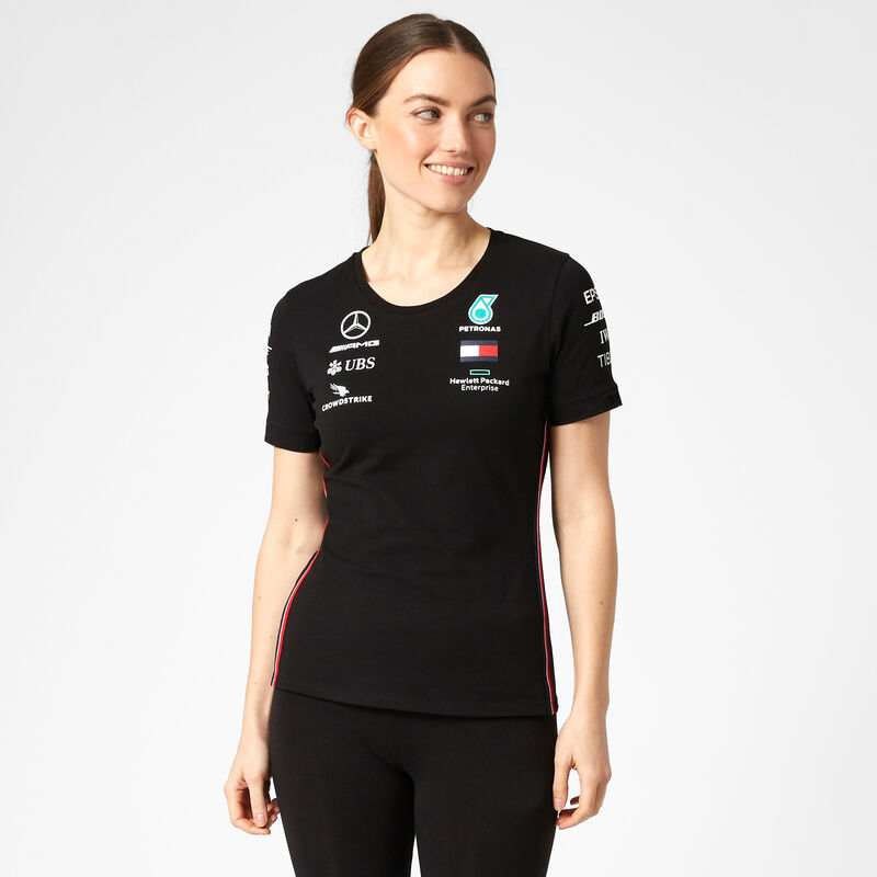 MAPM RP WOMENS DRIVER TEE - black