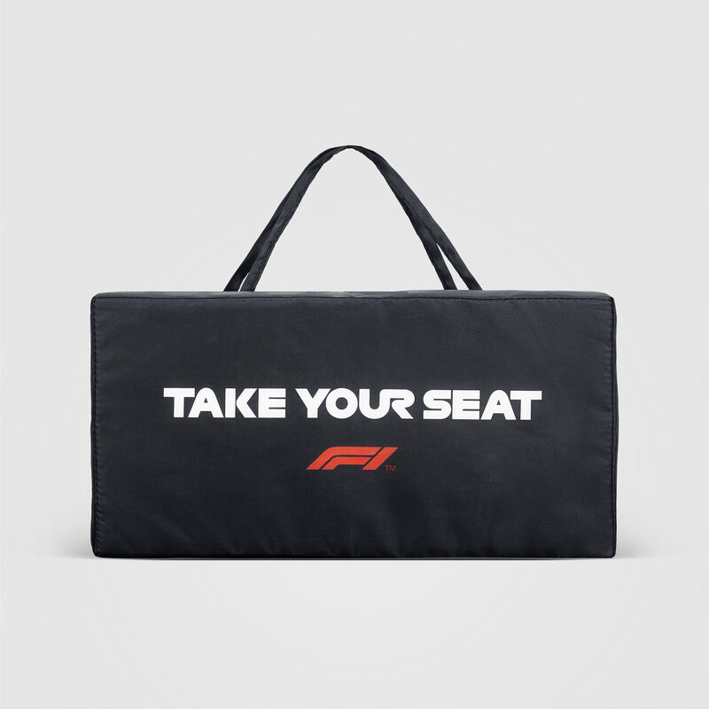 F1 FW LARGE LOGO SEAT CUSHION - black