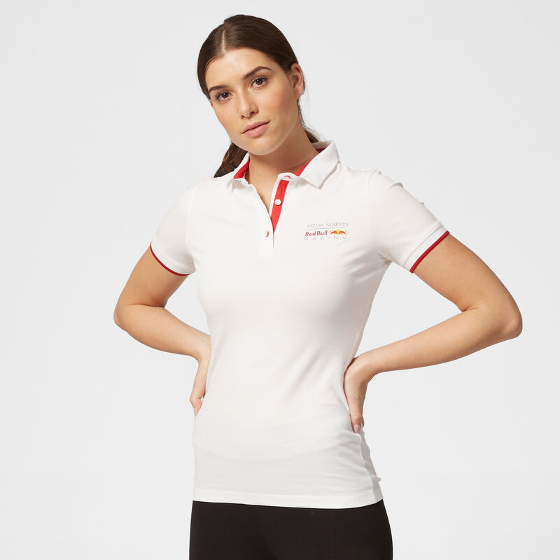 AMRBR FW WOMENS CLASSIC POLO - white