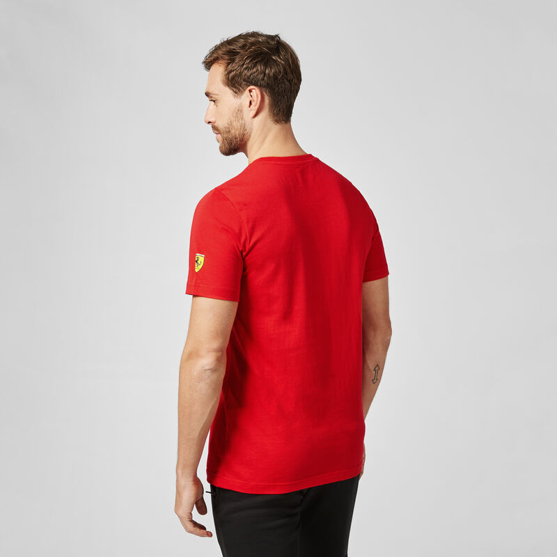 SF PU FW MENS DRIVER TEE - red