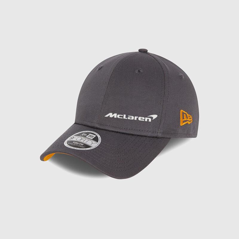 MCLAREN ESSENTIALS 940SS KIDS CAP - Antracit
