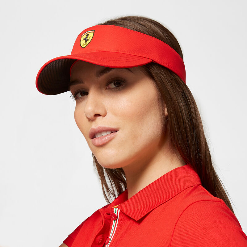 SF FW VISOR - red