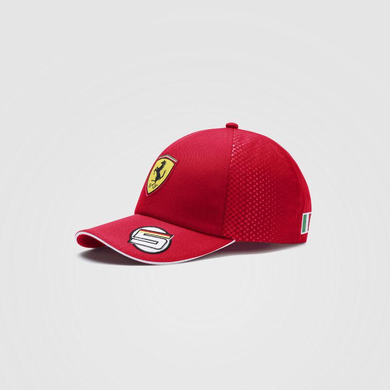 SF RP VETTEL NMWN BB CAP - red