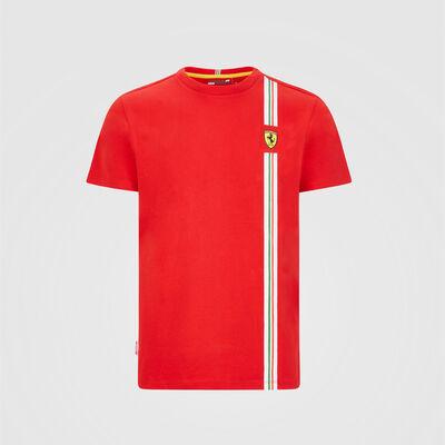 T-shirt avec drapeau italien