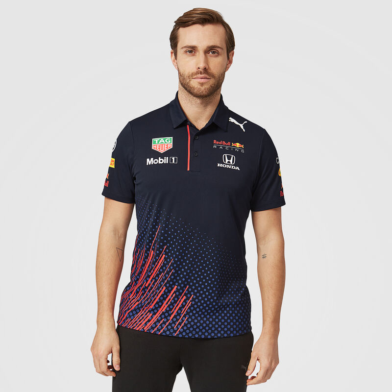 RBR RP MENS TEAM POLO - navy