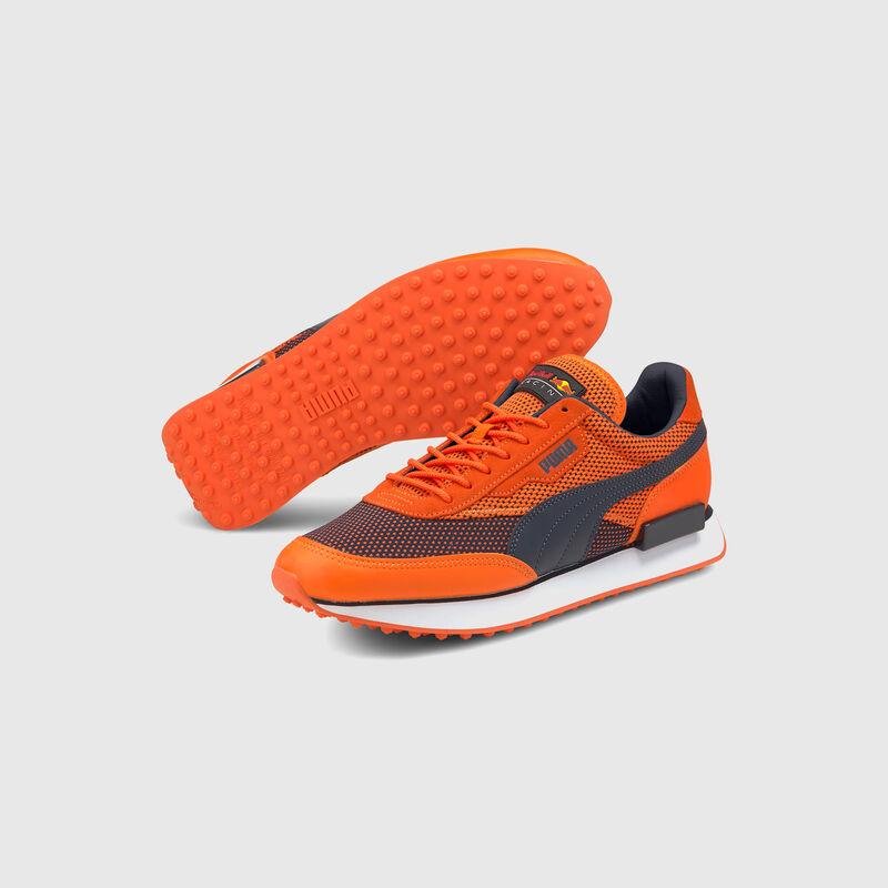 RBR PU LS FUTURE RIDER TRAINERS - orange