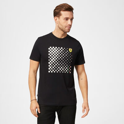 Checkered Graphic T-Shirt