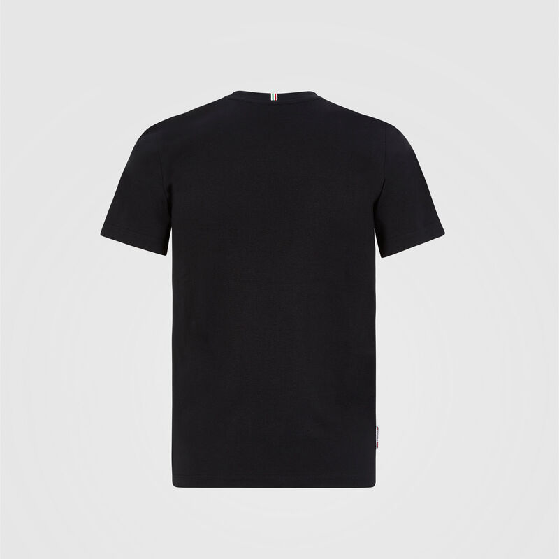 SF FW KIDS LARGE SHIELD TEE - black