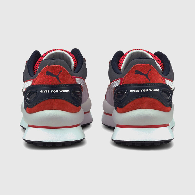 RBR PU LS STYLE RIDER TRAINERS - navy