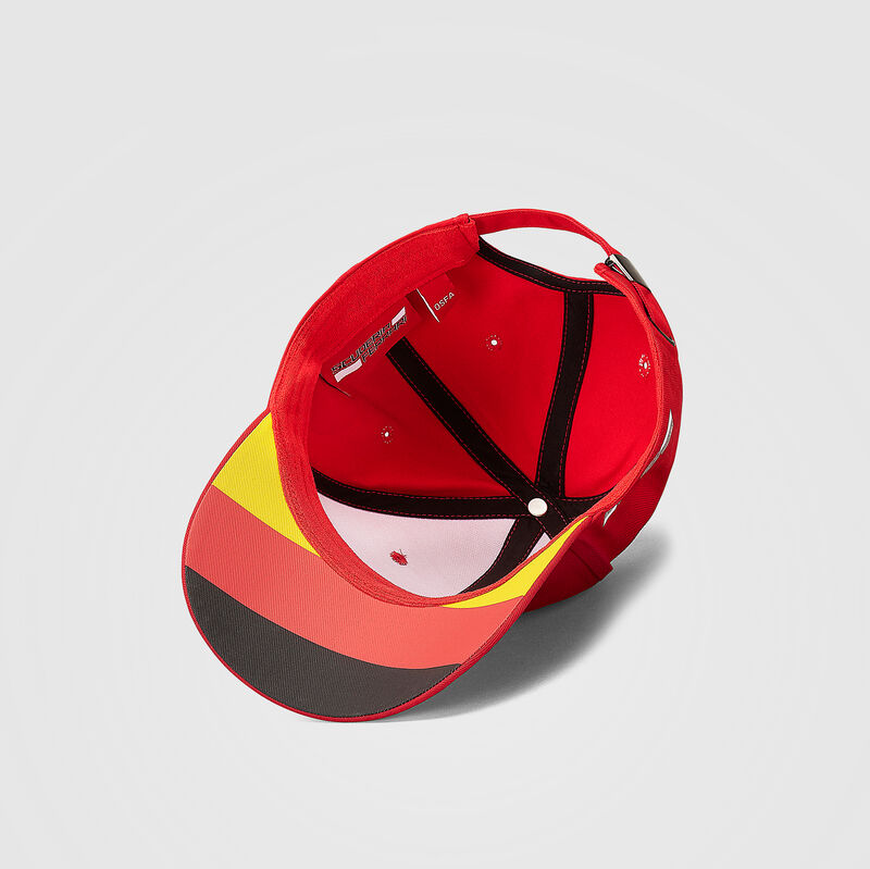 SF FW VETTEL BASEBALL CAP - red