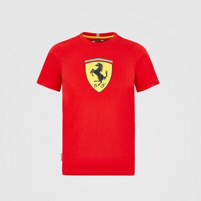 T-shirt avec grand blason pour enfant