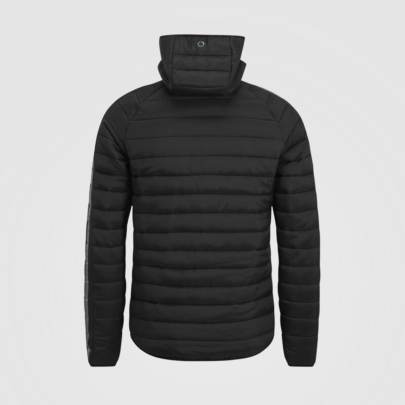 MAPM FW MENS LIGHTWEIGHT PADDED JACKET - black