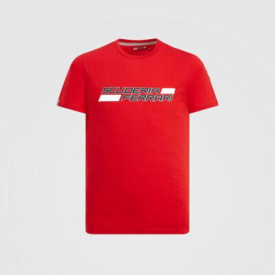 T-shirt à logo de la Scuderia