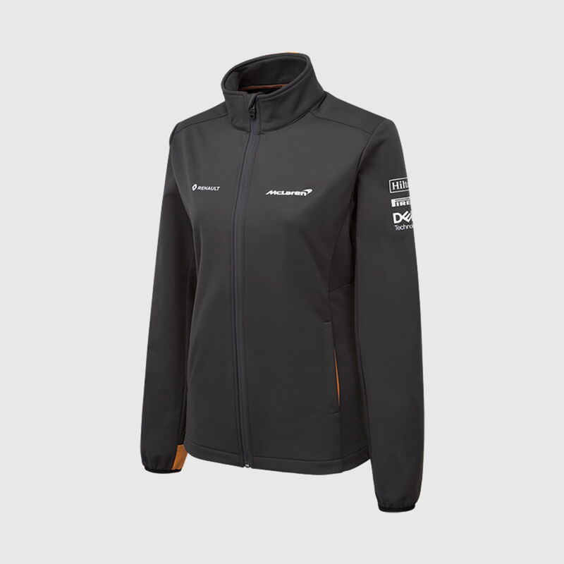 MCLAREN RP WOMENS SOFTSHELL JACKET  - grey