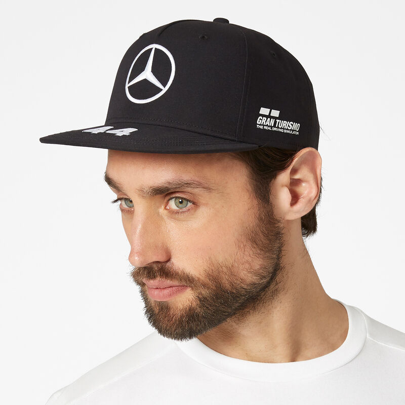 MAPM RP LEWIS DRIVER FLATBRIM CAP  - black