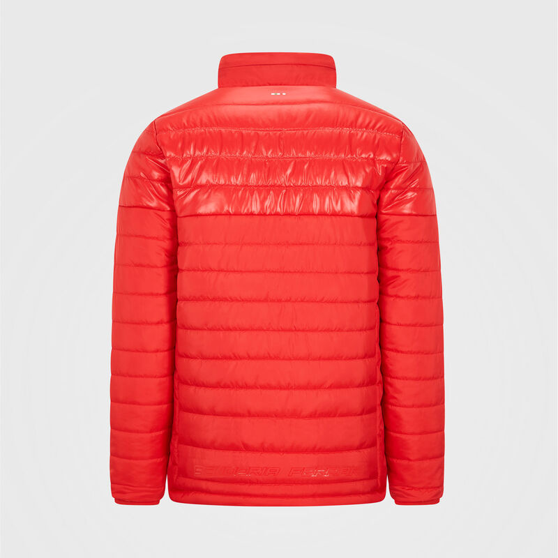 SF FW MENS PADDED JACKET - red