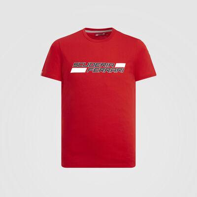 T-shirt con logo Scuderia