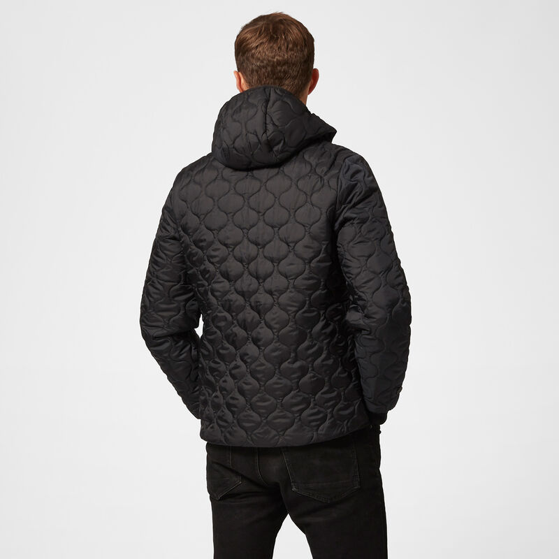 MAPM FW MENS PADDED JACKET - black