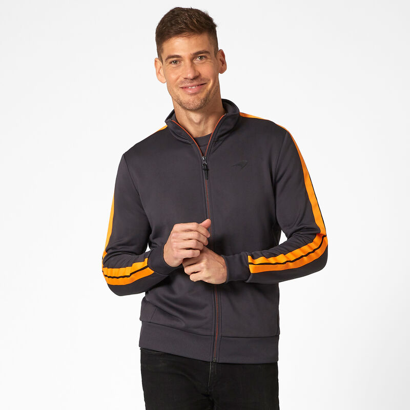 MCLAREN FW MENS TRACK JACKET - Antracit