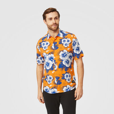 Chemise hawaïenne tropicale