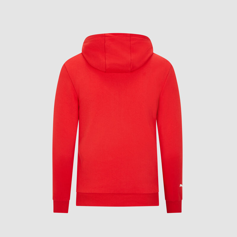 SF PU FW KIDS HOODED SWEAT - red