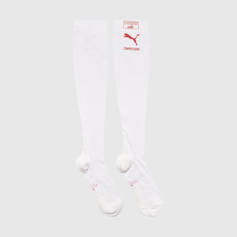 PU RW FIA COMPRESSION SOCKS - white
