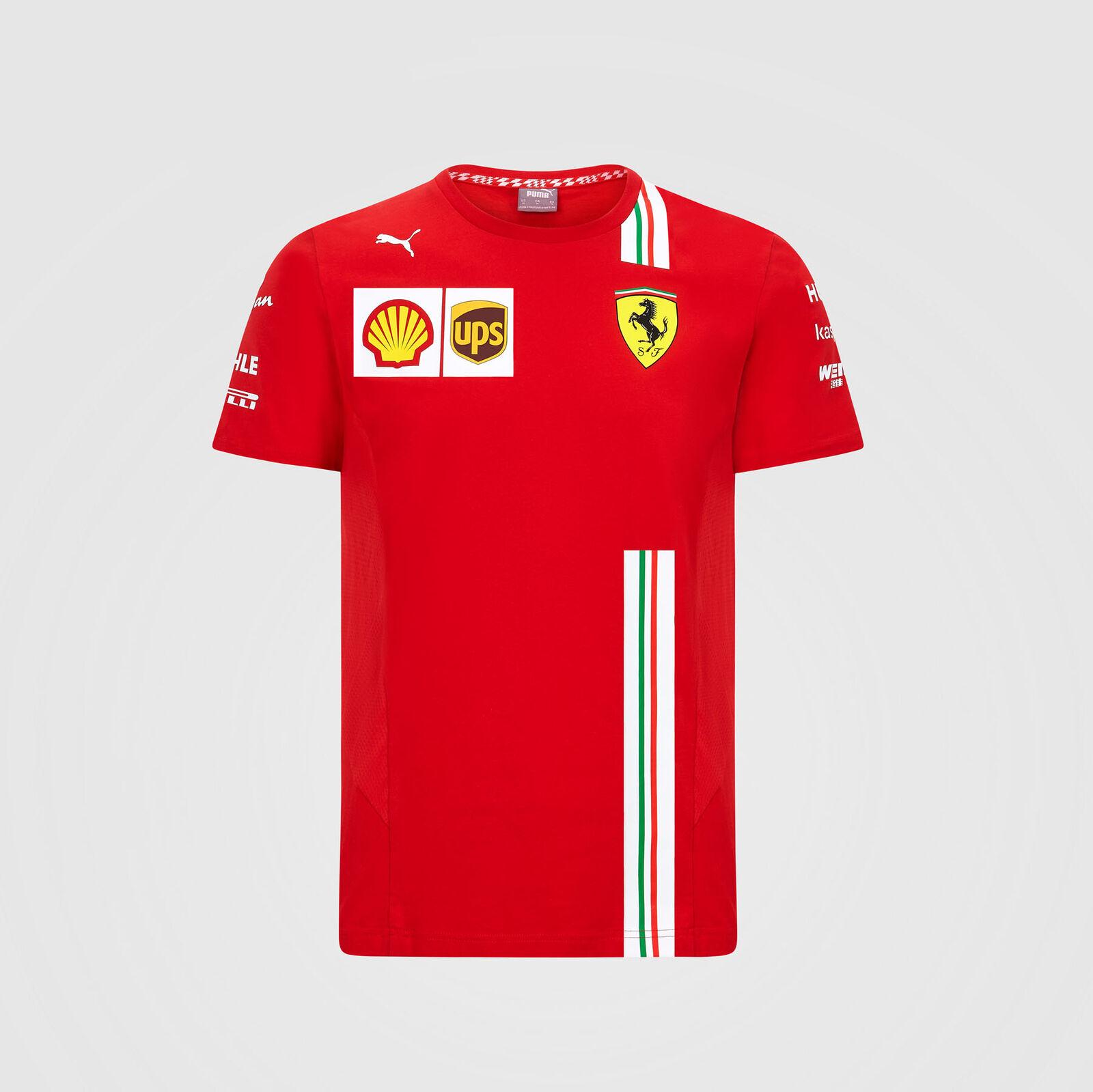 New Red Formula 1 F1 Fanatics Scuderia Ferrari Kid/'s T-Shirt