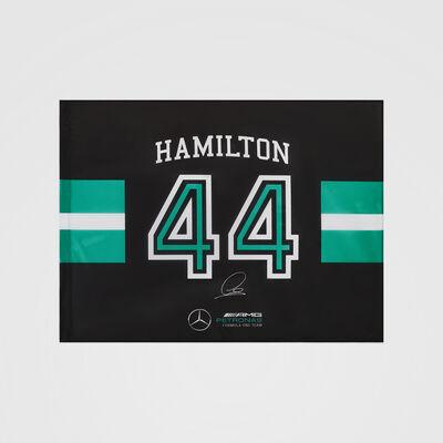 Bandiera n. 44 Lewis Hamilton