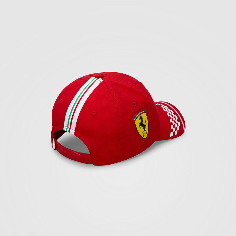 SF RP KIDS VETTEL BB CAP - red