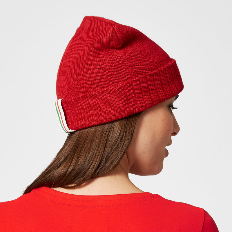 SF FW BEANIE - red