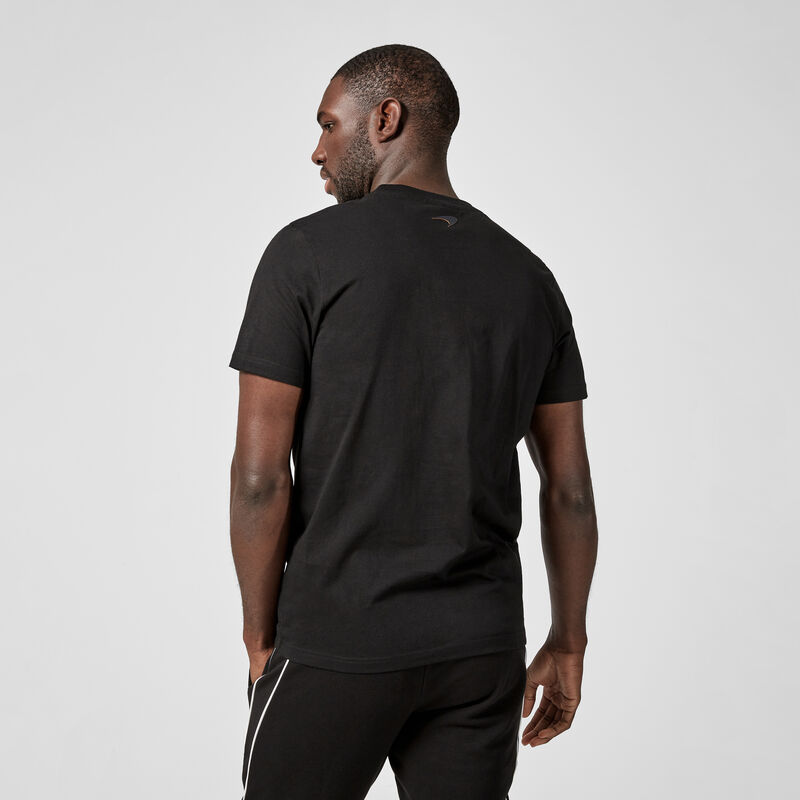 MCLAREN FW MENS STEALTH LOGO TEE - black