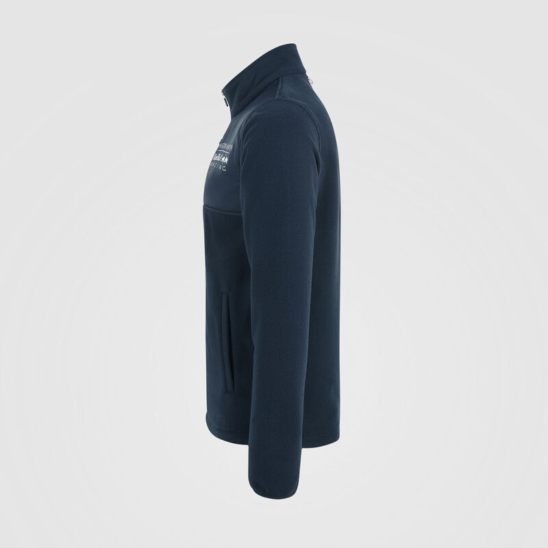 AMRBR FW MENS FLEECE JACKET - navy