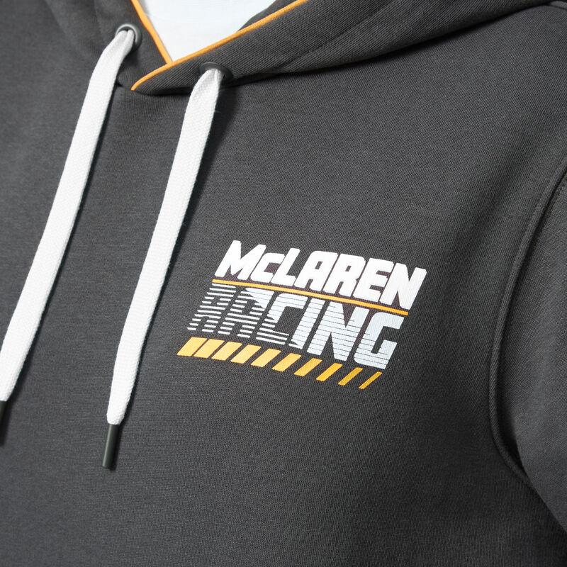 MCLAREN FW GULF RACING HOODED SWEAT - Antracit