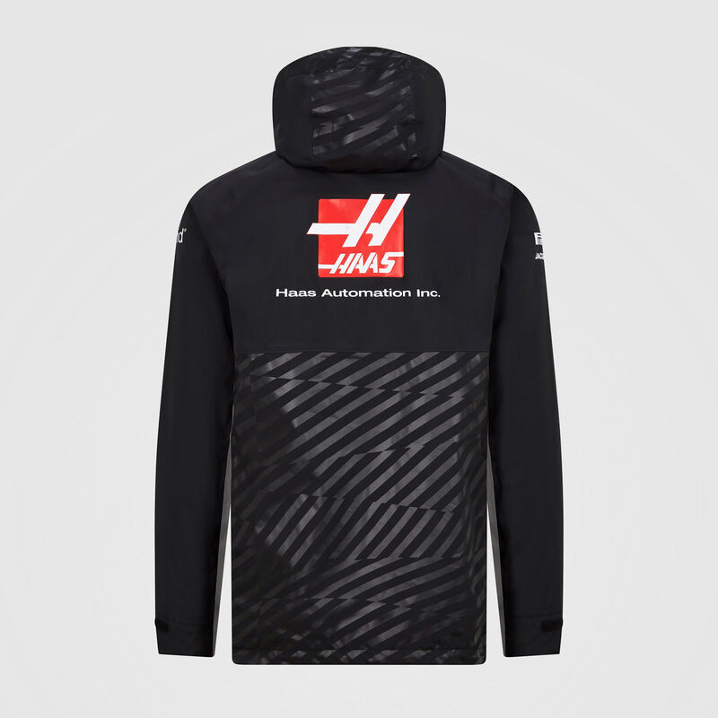 HAAS F1 RP MENS TEAM RAINJACKET - black