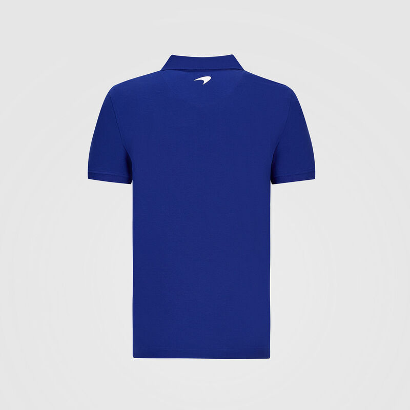 MCLAREN FW MENS ESSENTIALS POLO - blue