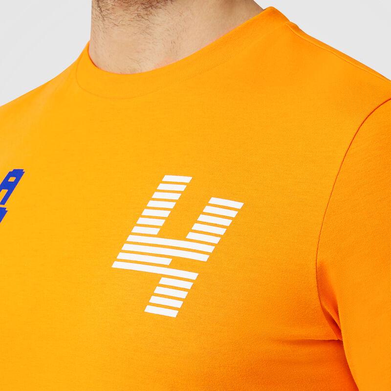 MCLAREN FW MENS LANDO LN4 TEE - orange