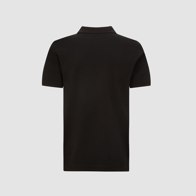 SF PU FW MENS CLASSIC POLO - black