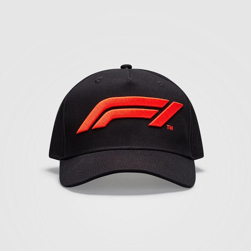 F1 FW KIDS LOGO CAP - black