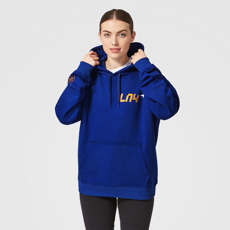 MCLAREN FW MENS LANDO LN4 HOODY - blue