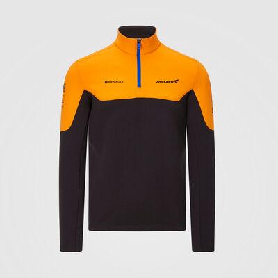2020 Team-Sweatshirt mit 1/4-Reißverschluss