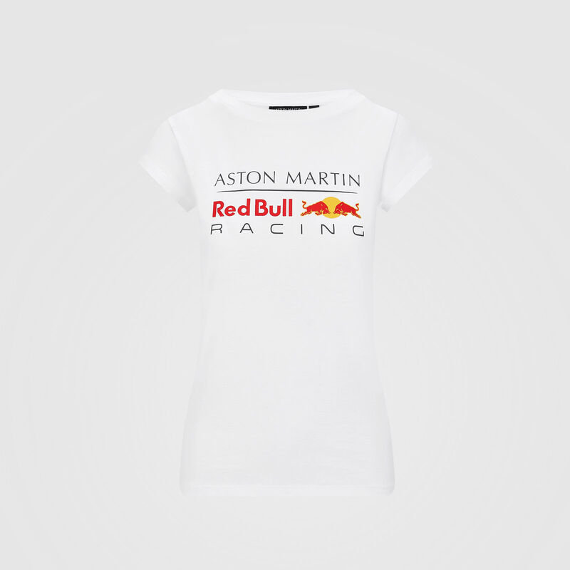 AMRBR FW WOMENS LARGE LOGO TEE - white