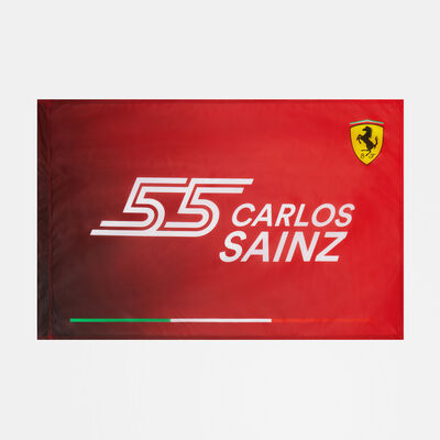 Carlos Sainz 55 Flag