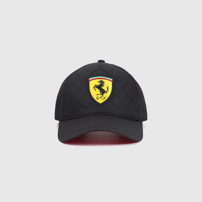 SF FW QUILT CAP - black