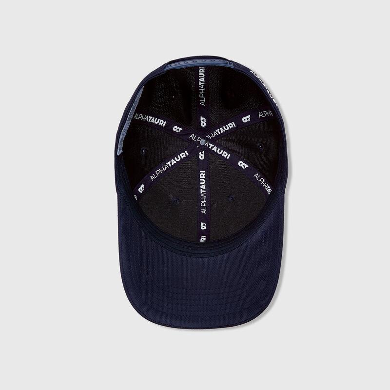 ALPHA TAURI RP LOGO CAP - navy